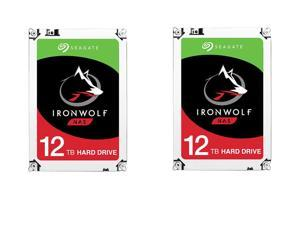 "2-Pack Seagate IronWolf 3.5"" 12TB Internal Hard Drive"