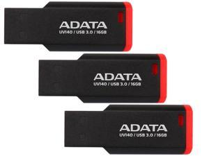 3-Pack ADATA UV140 16GB USB 3.0 Flash Drive
