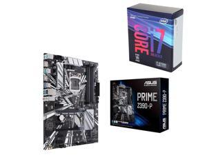 Intel Core i7-8700K Coffee Lake 6-Core 3 7 GHz (4 7 GHz Turbo), ASUS Prime  Z390-P LGA 1151 (300 Series) Intel Z390