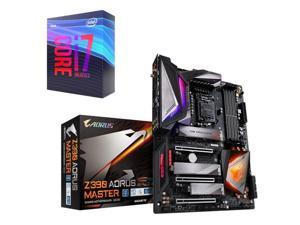 Intel Core i7-9700K Coffee Lake 8-Core 3.6 GHz (4.9 GHz Turbo), GIGABYTE Z390 AORUS MASTER LGA 1151 (300 Series) Intel Z390