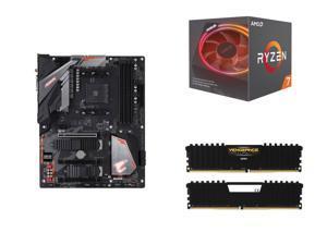 AMD RYZEN 7 2700X 8-Core 3 7 GHz (4 3 GHz Max Boost), GIGABYTE B450 AORUS  PRO WIFI (rev  1 0) AM4 AMD B450, CORSAIR Vengeance LPX 16GB (2 x 8GB)