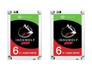 "2 Pack Seagate IronWolf 3.5"" 6TB Internal Hard Drive"