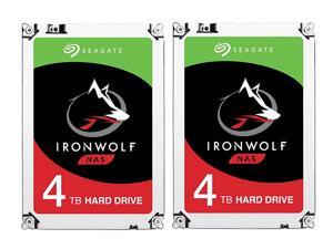 2 Pack Seagate IronWolf 3.5