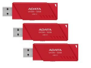 3-Pack ADATA UV330 32GB USB 3.1 Flash Drive