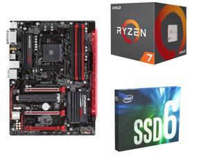 AMD Ryzen 7 2700 Processor + Gigabyte Motherboard + 250GB Internal SSD
