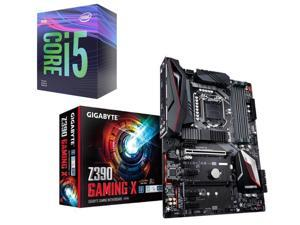 Intel Core i5-9400F Coffee Lake 6-Core 2 9 GHz (4 10 GHz Turbo) Processor,  GIGABYTE Z390 GAMING X LGA 1151 (300 Series) Intel Z390 HDMI SATA 6Gb/s USB