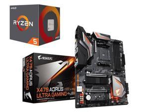 AMD Ryzen 5 2600X Six-Core 3.6 GHz Socket AM4 95W Desktop Processor + Gigabyte X470 AORUS ULTRA GAMING AMD Motherboard + Tom Clancy's The Division 2 Gold Edition & World War Z