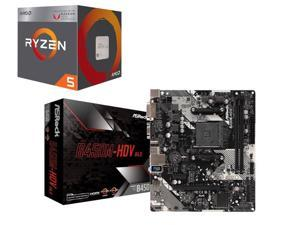 AMD Ryzen 5 Quad Core 3.60 GHz Processor + Motherboard