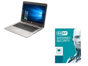 HP Laptop EliteBook 840 G3 Intel Core i7 6th Gen 6600U (2 60 GHz) 8 GB  Memory 240 GB SSD 14 0