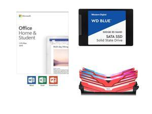 Microsoft Office Home & Student 2019 + WD 500GB SSD Bundle Deals