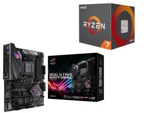 AMD RYZEN 7 2700X 8-Core 3.7 GHz Socket AM4 105W Desktop Processor + ASUS ROG Motherboard