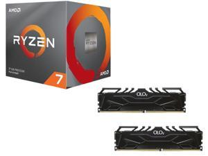AMD RYZEN 7 2700 8-Core 3.2 GHz (4.1 GHz Max Boost) Socket AM4 65W YD2700BBAFBOX + OLOy 32GB (2 x 16GB) DDR4 3600 (PC4 28800) ...