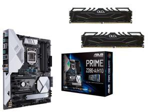 ASUS Prime Z390-A/H10 Motherboard + OLOy 32GB (2 x 16GB) DDR4 SDRAM Memory