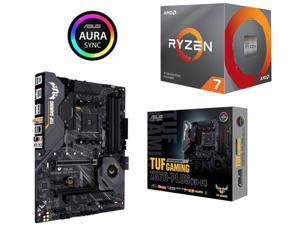 AMD RYZEN 7 3800X 8-Core 3.9 GHz (4.5 GHz Max Boost) + ASUS AM4 TUF Gaming X570-Plus (Wi-Fi)