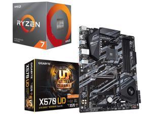 AMD RYZEN 7 3700X 8-Core 3.6 GHz (4.4 GHz Max Boost) Processor + GIGABYTE X570 UD Motherboard