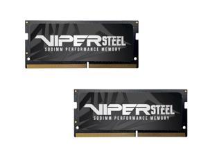 2 x Patriot Viper Steel 8GB 260-Pin DDR4 SO-DIMM DDR4 2666 (PC4 21300) Laptop Memory Model PVS48G266C8S