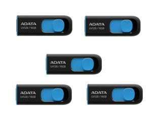 5 x ADATA 16GB UV128 USB 3.2 Gen 1 Flash Drive (AUV128-16G-RBE)