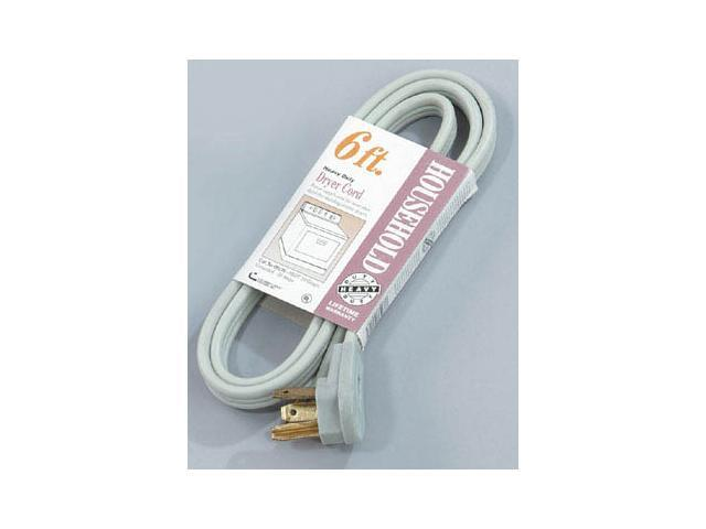 Coleman Cable 09126 6' Grey Dryer Cord photo