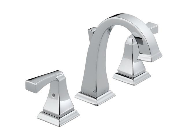 Delta Faucet B3596lf Windemere Polished Chrome Two Handle: DELTA 3551LF Dryden Two Handle Widespread Lavatory Faucet