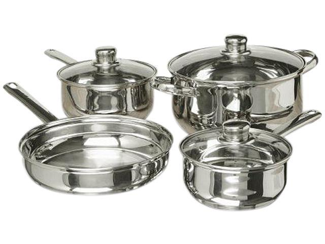 Gibson Home Landon 7-Piece Stainless Steel Cookware Set photo