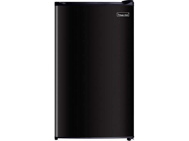 MAGIC CHEF MCBR350B2 3.5 Cu Ft Refrigerator with Manual Defrost, Black photo