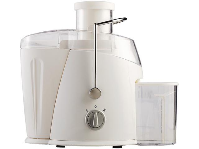 BRENTWOOD JC-452W 350ml Juice Extractor, 400 Watts (White) photo