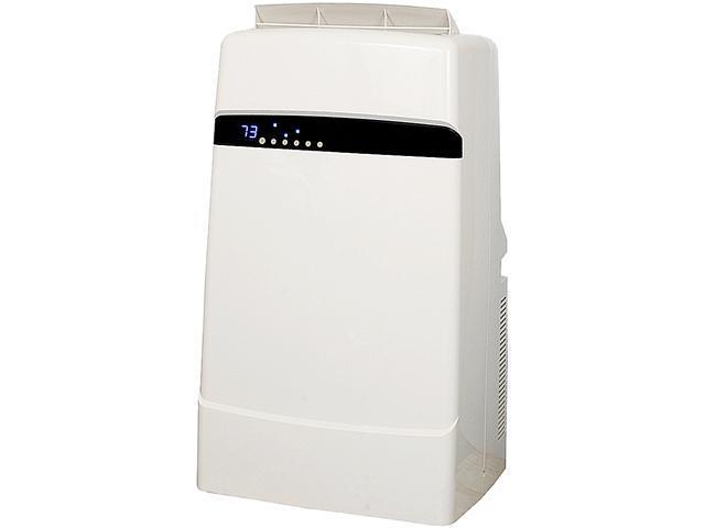 Whynter ARC-12SDH Eco-friendly 12,000 BTU Dual Hose Portable Air Conditioner with Heater, White photo