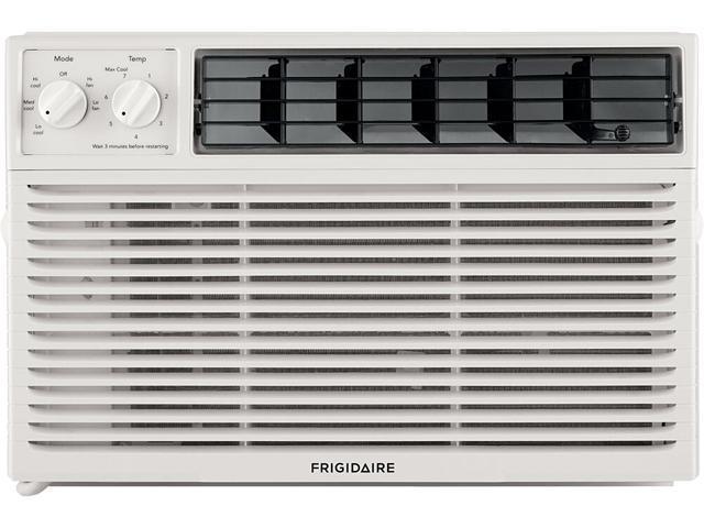 Frigidaire 6000 BTU Window-Mounted Room Air Conditioner, White FFRA061ZAE photo