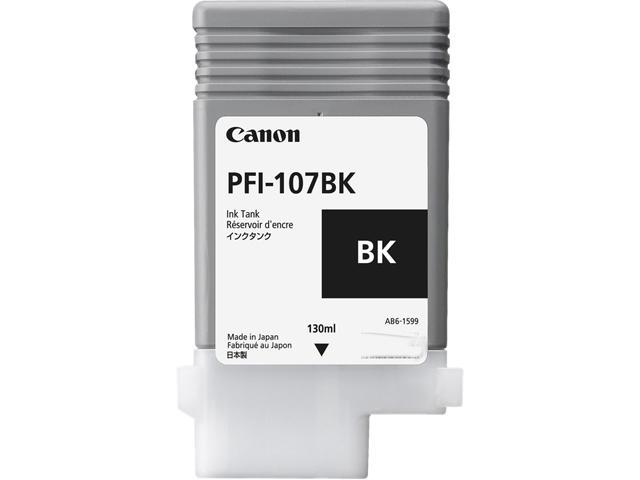 Canon PFI-107B Ink Cartridge - Black PFI-107BK Black Ink 130ml