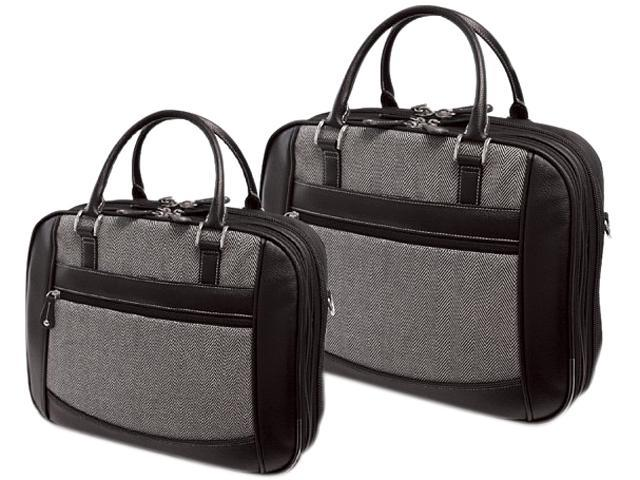 MOBILE EDGE MESFEBHL 16' Herringbone Large Checkpoint Friendly Laptop Bag
