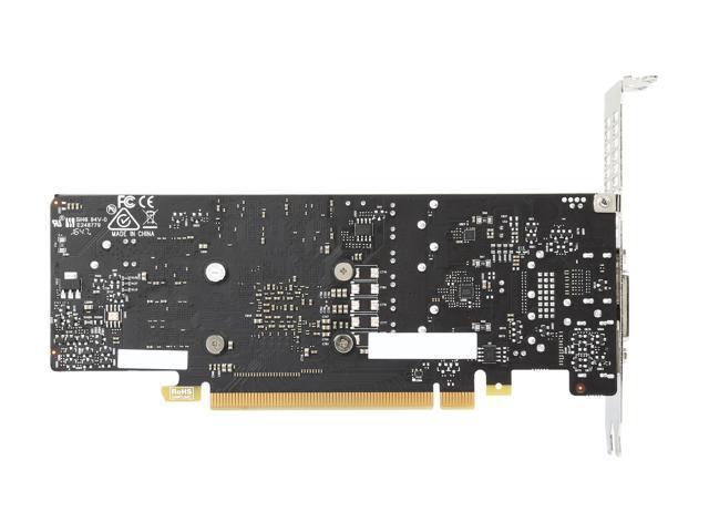 MSI GeForce GTX 1050 Ti DirectX 12 MSI-GTX1050Ti4GTLP-RFB 4GB 128-Bit GDDR5 PCI
