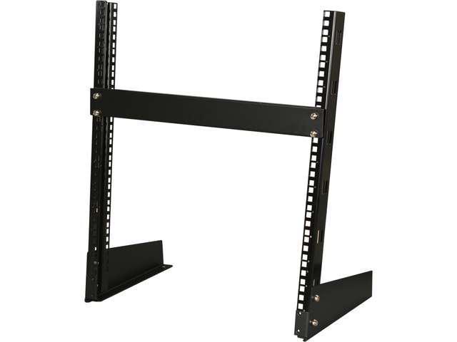 """Rosewill 12U Wall Mount Open Frame 2-Post Server Equipment Rack Threa 17/"""" Deep"""