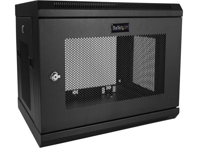 Startech Com Rk616walm Wall Mount Server Rack Cabinet 6u