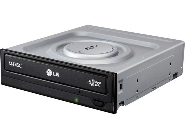 LG GH24NSC0R LG GH24NSC0 Internal DVD-Writer - 1 x Retail Pack - Black - DVD-RAM/±R/±RW Support - 48x CD Read/48x CD Write/24x CD Rewrite - 16x DVD. photo