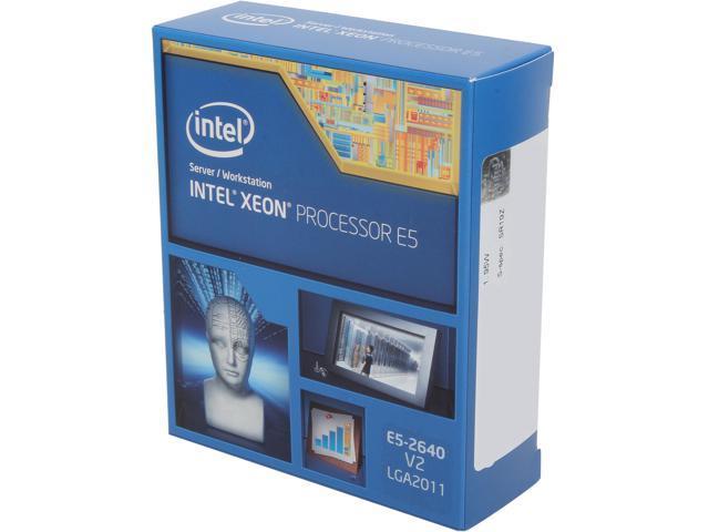 Intel Xeon E5-2640 v2 2.0 GHz LGA 2011 95W BX80635E52640V2 Server Processor