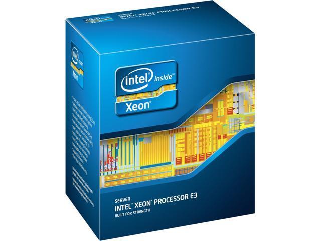 Intel Xeon E3-1231V3 3.4 GHz LGA 1150 80W BX80646E31231V3 Server Processor
