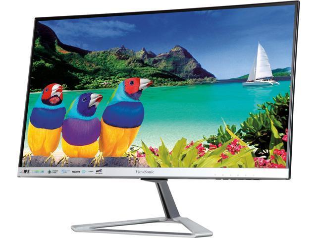 """AOC 27V2H 27/"""" Full HD 1920x1080 Ultra-Slim Monitor Edge-to-Edge Frameless IPS p"""