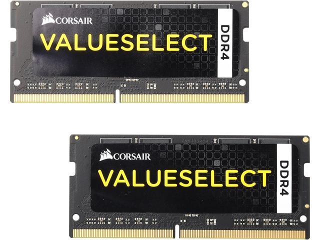 CORSAIR ValueSelect 8GB (2 x 4GB) 260-Pin DDR4 SO-DIMM DDR4 2133 (PC4 17000) Laptop Memory Model CMSO8GX4M2A2133C15