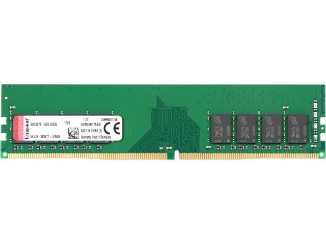 1 x 8GB Crucial 8GB Desktop Memory CL17 1.2V SR DIMM 288 DDR4 2400MHz DRAM