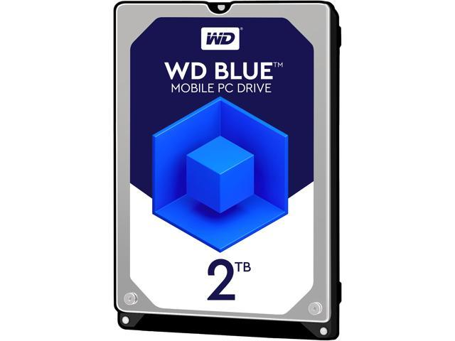 "WD Blue WD20SPZX 2TB 5400 RPM 128MB Cache SATA 6.0Gb/s 2.5"" Internal"