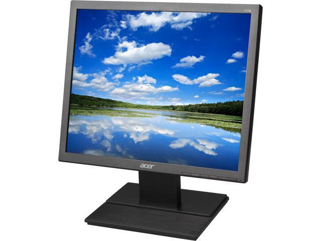 Acer V176L bm UM. BV6AA.003 17' SXGA 1280 x 1024 75 Hz D-Sub Built-in Speakers LCD Monitor