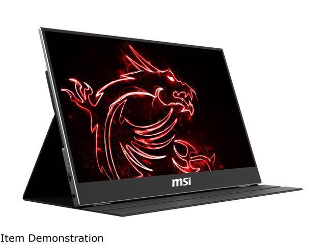 Msi optix mag161v 15. 6' full hd 1920 x 1080 25ms (gtg) 60 hz mini hdmi, usb-c portable monitor