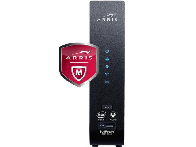 Arris Surfboard Sbg7400ac2 Cable Modem And Wi Fi Router