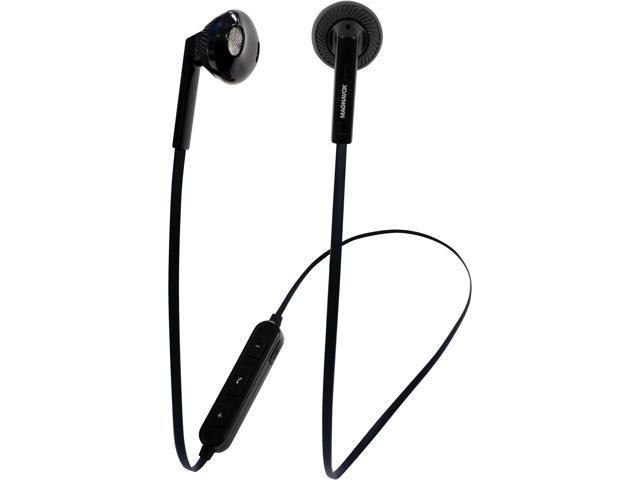 59dd3d495b3 Magnavox MBH539 Stereo Earphones with Bluetooth Wireless Technology (Black)