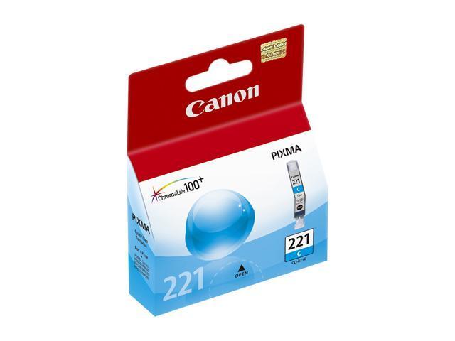 Canon CLI-221 Ink Cartridge - Cyan