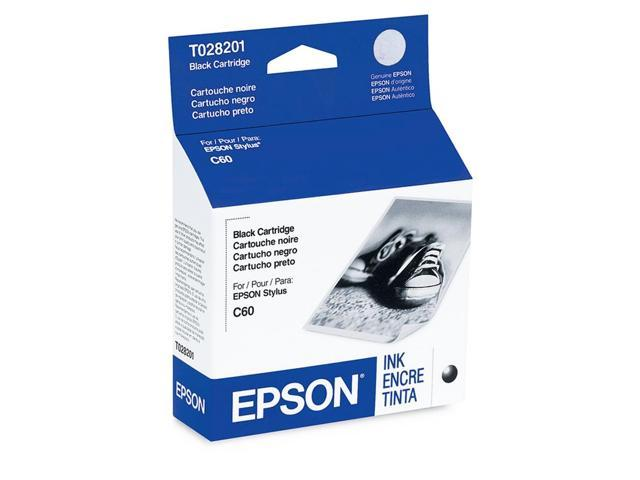 EPSON T028201 Ink Cartridge Black photo