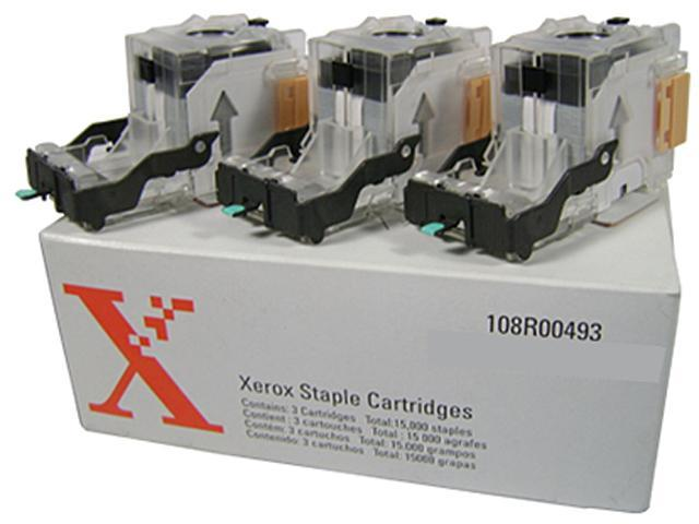 Xerox Staple Refill Cartridge 3 Pack 108R00493 for DC535/545/555, WorkCentre 5845/5855/5865/5875/5890 photo