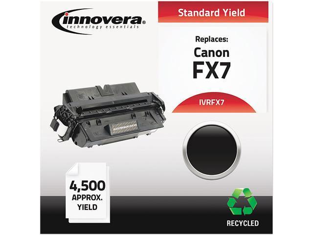Innovera IVRFX7 Black Toner, 4500 Pages, for Canon Printer