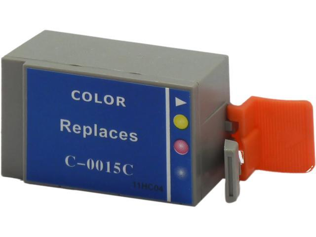 Green Project C-BCI15CR Reman Inkjet Canon BCI 15 Color