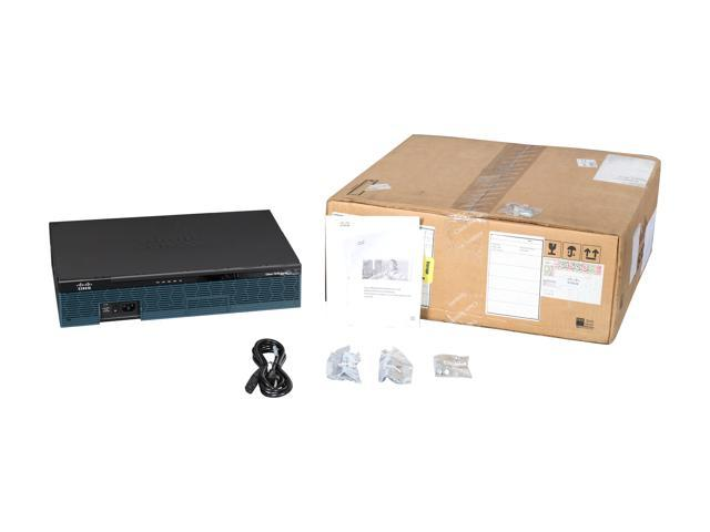 Cisco 2911 Integrated Services Router with 3 Onboard GE, 4 EHWIC Slots, 2 DSP Slots, 1 ISM Slot, 256MB CF Default, 512MB DRAM Default, IP Base. photo